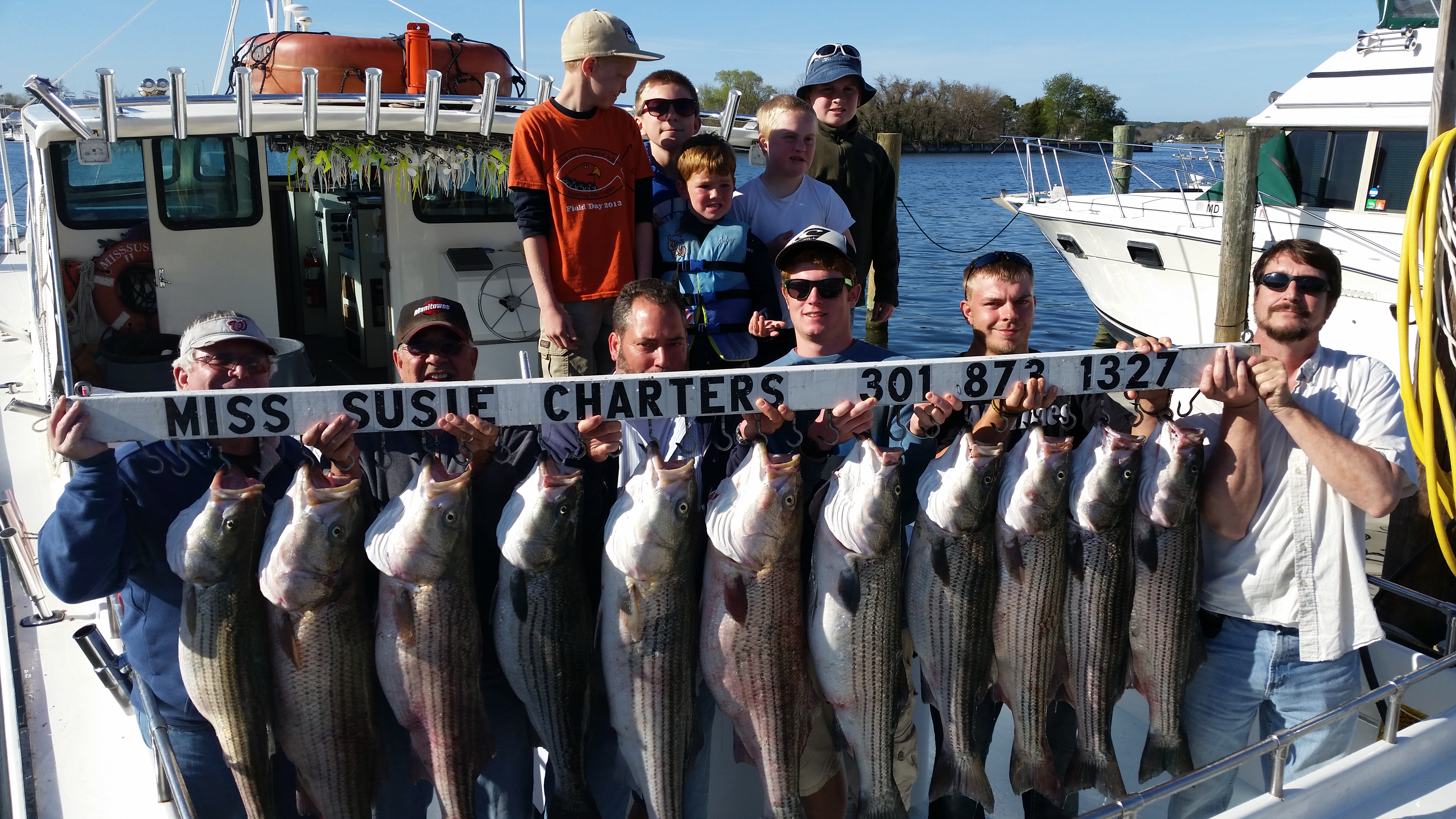 Sport fishing charters light tackle fishing in deale md for Deale md fishing charters