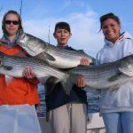 catching rockfish on the Chesapeake Bay