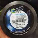 Power Pro Maxcuatro fishing line