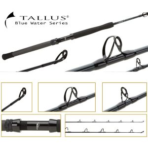 Shimano Tallus Trolling Slick Butt Ring Guided Fishing Rod